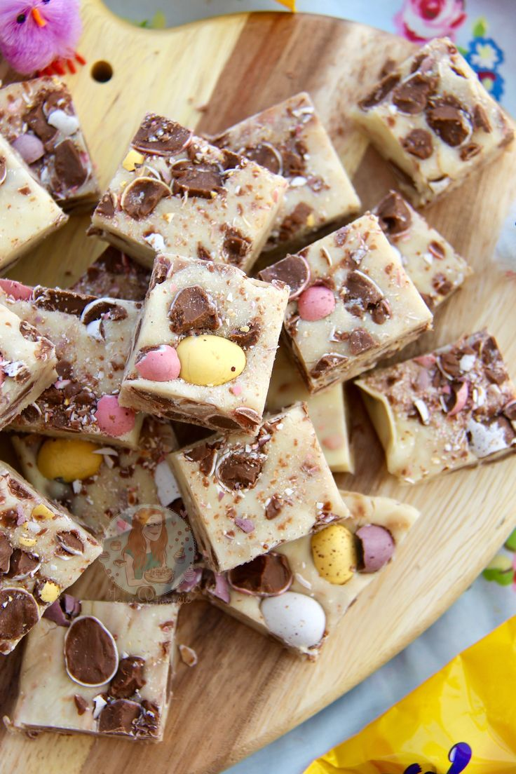 Mini Egg Fudge!!
