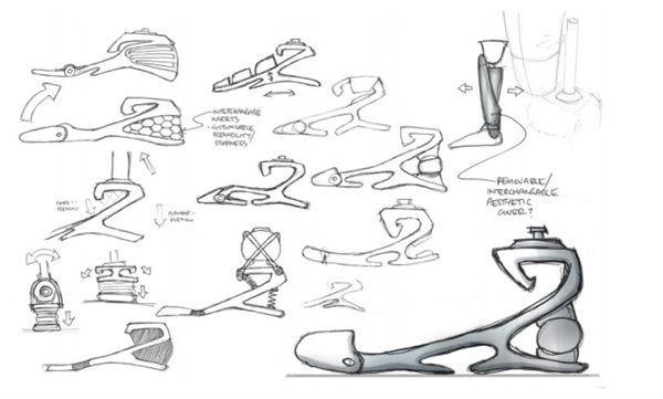 3ders.org - New $10 3D printed foot prosthetics improve stability and gait as…