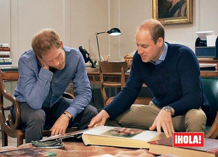 Príncipes Guillermo y Harry de Inglaterra
