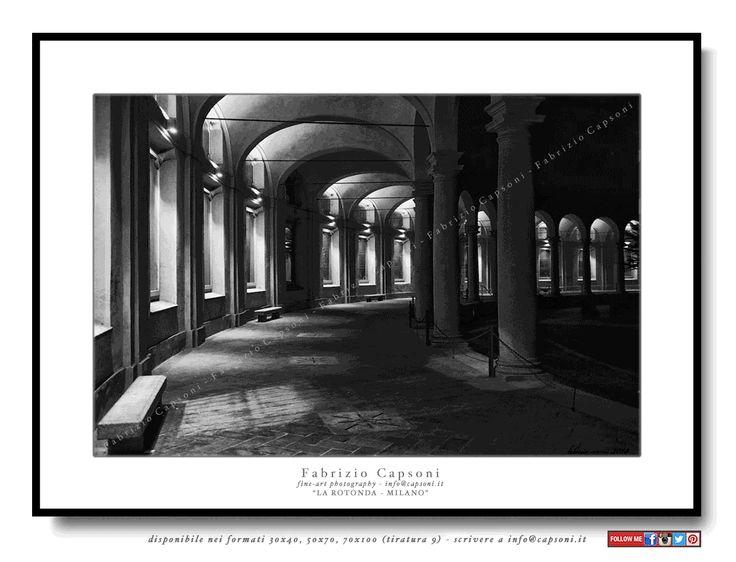 La rotonda, Milano - ©2014 Fabrizio Capsoni