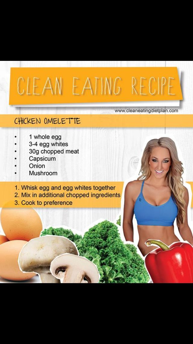 Ashy Bines Clean Eating - Omelette
