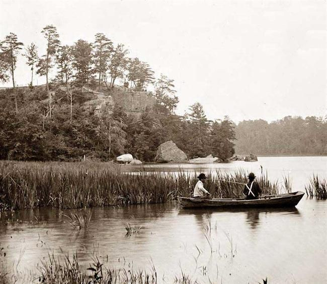 13 best old boats images on pinterest vintage typography for James river fishing