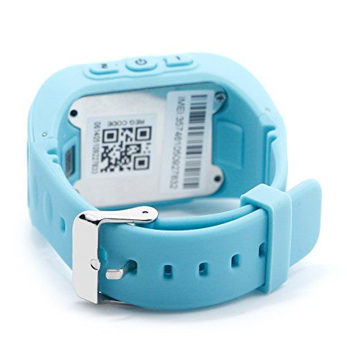 Best-topshop Q50 Kids GPS Watch Anti-lost Children Safety Tracker Band Smart Phone Watch for Android/IOS (Blue)   Description: Main Function: 1. A key to SOS distress: in an emergency, press the SOS button, namely to guardian sent a distress message. <b