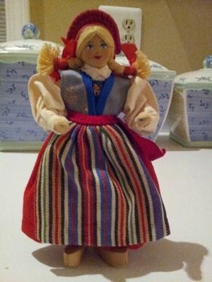 Swedish Charlotte Weibull doll
