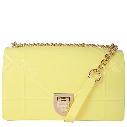 "New Trending Make Up Bags: Rimen  Co. Ladies Fashion Mini Jelly Cross Body Bag with Buckle Closure GD-2943 (Yellow). Rimen  Co. Ladies Fashion Mini Jelly Cross Body Bag with Buckle Closure GD-2943 (Yellow)   Special Offer: $16.99      244 Reviews "" Rimen  Co. brings you an exclusive collection of handbags. This handbag is definitely a trend setter with will stand out wherever you go...."