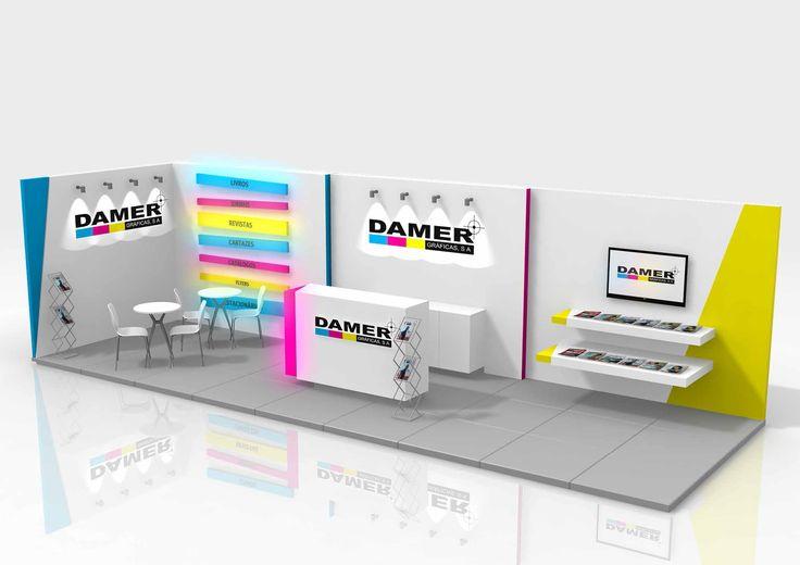 Damer Stand 3D to Damer Gráficas