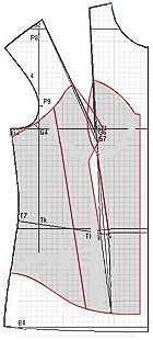 """Пример моделей свадебных платьев и корсета разработанных на основах рассчитанных в программе """"Закройщик"""""""