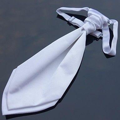 XINCLUBNA ® New italiani Cravatte Ascots Gentleman Satin Wedding Party cravatta Tie 10 colori (1pc) – EUR € 5.12