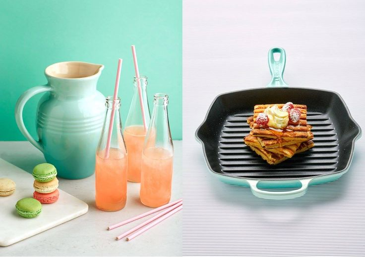 Le Creuset Cool Mint Launch Campaign #canvas #advertising #artdirection #shoot #lecreuset #coolmint #foodphotography
