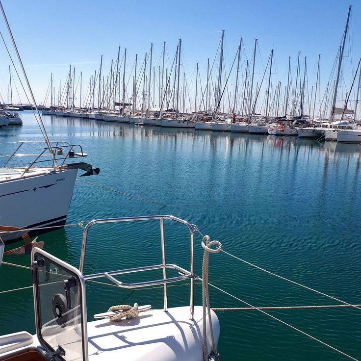 Best office view  #sailors #yachtlife #bestview