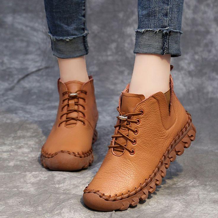 Zapatos de terciopelo de cuero suave hecho a mano de otoño invierno para mujer   – Handmade women shoes|Ethnic Shoes