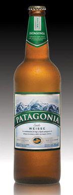 Cerveja Patagonia Weisse, estilo Witbier, produzida por Quinsa, Argentina. 5% ABV de álcool.