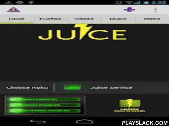 Juice For Roku DEMO  Android App - playslack.com , This is the DEMO version of Juice for Roku. It has all the features of the paid version, but only lets you send the first song or photo in the list to your Roku, and does not include the widget..It is strongly recommended that you try the DEMO version first to make sure everything works before buying the paid version. If you have problems connecting, read info in the Help menu or send an email to gregg.reno@jigawattlabs.comNote: For the app…