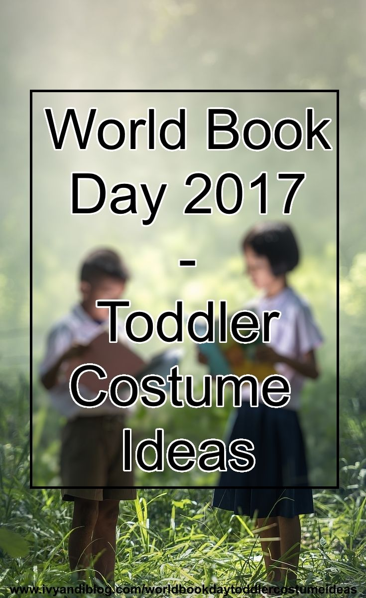 World Book Day - Toddler Costume Ideas