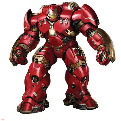 'The Avengers: Age of Ultron' (2015) - 'Hulkbuster' artwork