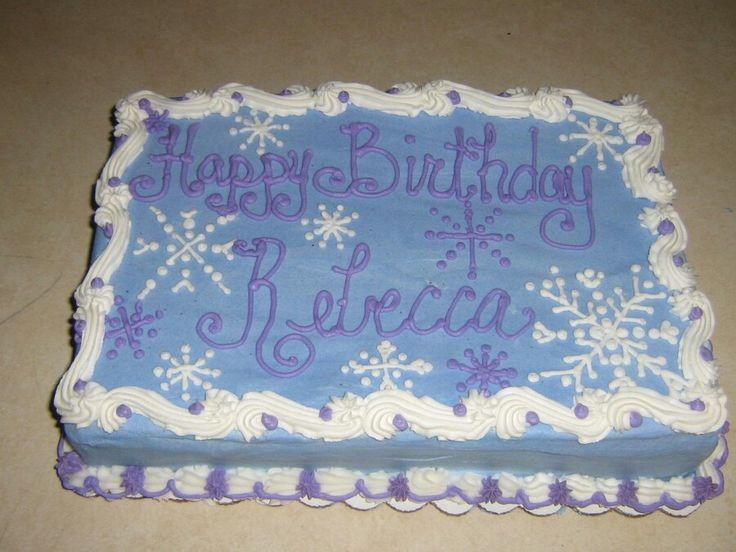 Sheet cake frozen birthday party ideas frozen cake birthday party
