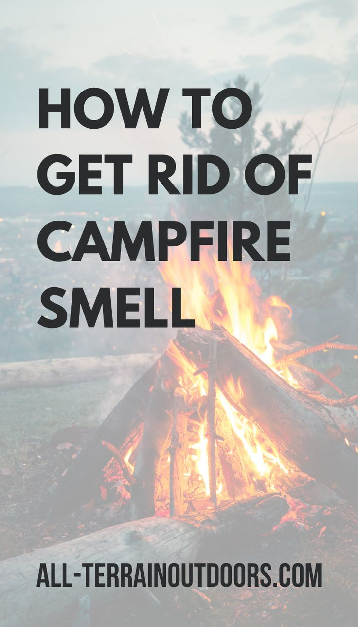 How to get campfire smell out of clothes what really