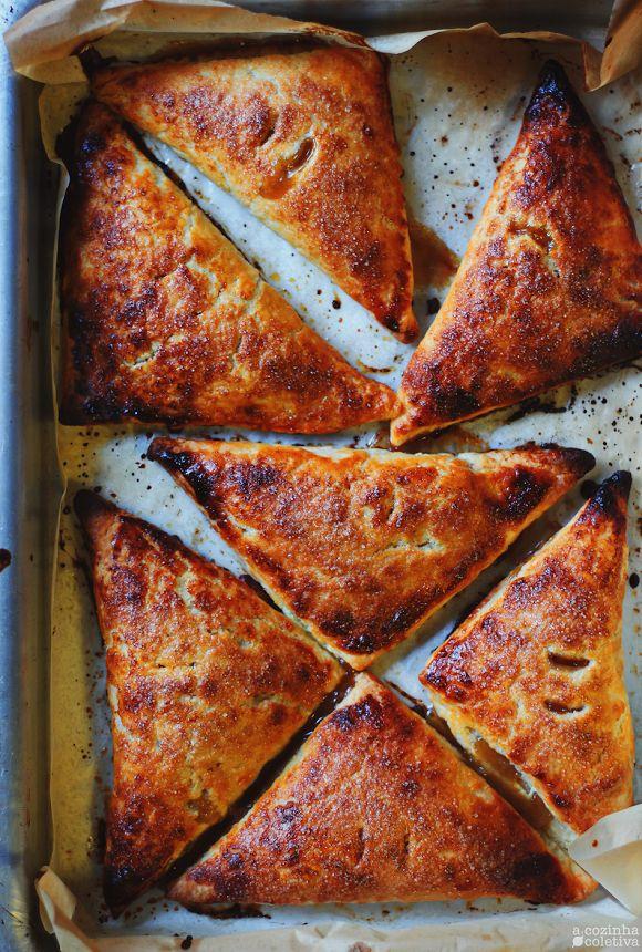 Hand Pies de Maçã e especiarias