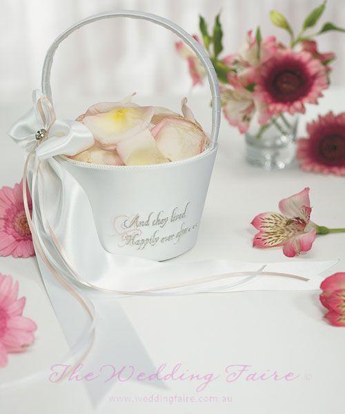 Fairy Tale Flower Girl Basket - The Wedding Faire