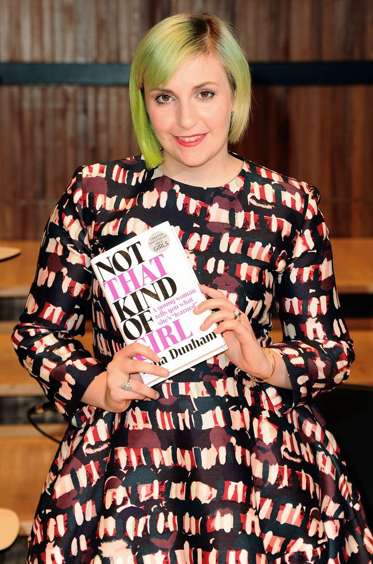 The 25+ best Lena dunham book ideas on Pinterest   Quotes about ...