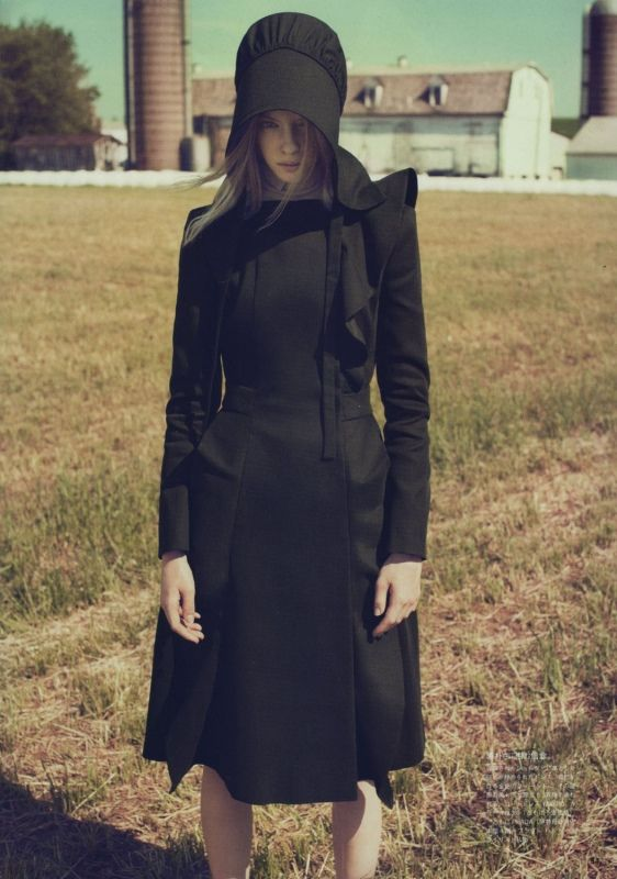 best amish images fashion editorials high  amish chic kinda like the dress