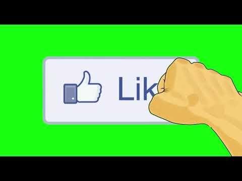 Like Animado GREEN SCREEN fundo verde para EFEITO CHROMA key