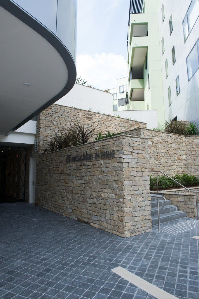 This cladding is commonly used to liven up feature walls, façades and retaining walls. Stone wall cladding is also ideal for fireplaces and areas around outdoor barbecues and water features. #granitecladding #outdoorlife #cladding #sydneybuider #stonecladding #featurewall #outdoorenvirenment #cappingstone