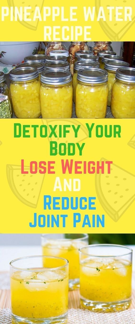 The recipe we have for you today presents a pineapple-infused water that can help you lose weight reduce the swelling and pain in your joints and reinforce your immune system. The water should be taken every morning before breakfast and will provide you with a jolt of energy that will last throughout the day.