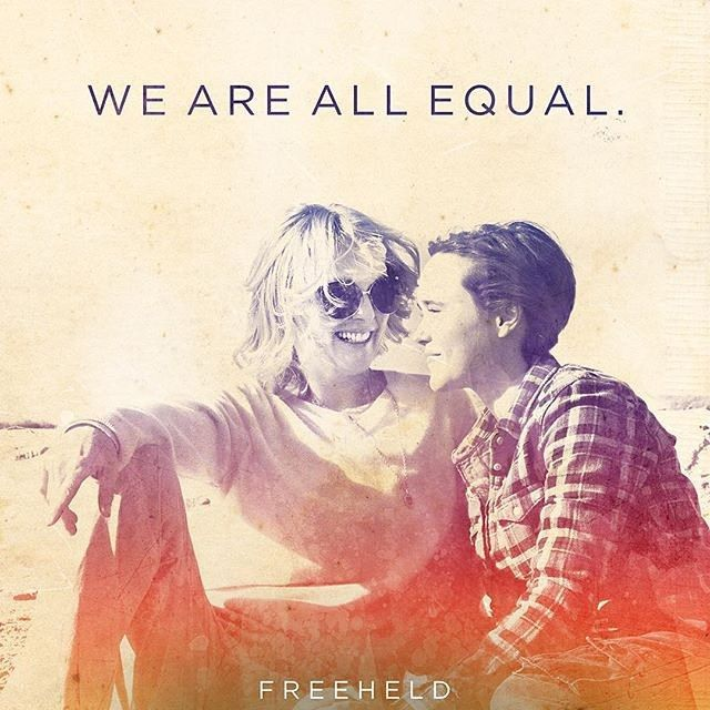 We are all Equal. #Freeheld #WomensEquality