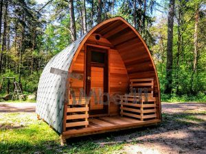 Red Cedar Garden Outdoor Sauna For Sale