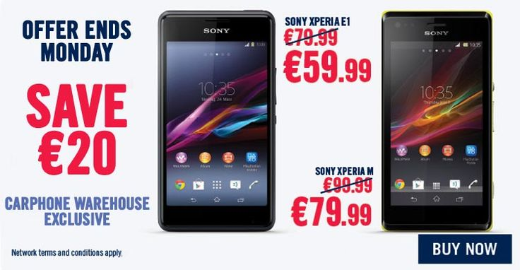 Sony Xperia August Offers!
