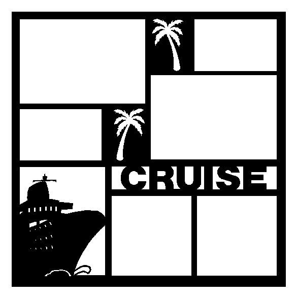 Cruise Scrapbook Pages | Cruise Scrapbooking