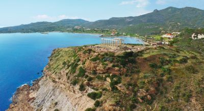 Choose the Cape Sounio Luxury Hotel to live the wedding experience at Greece's mythical Cape.