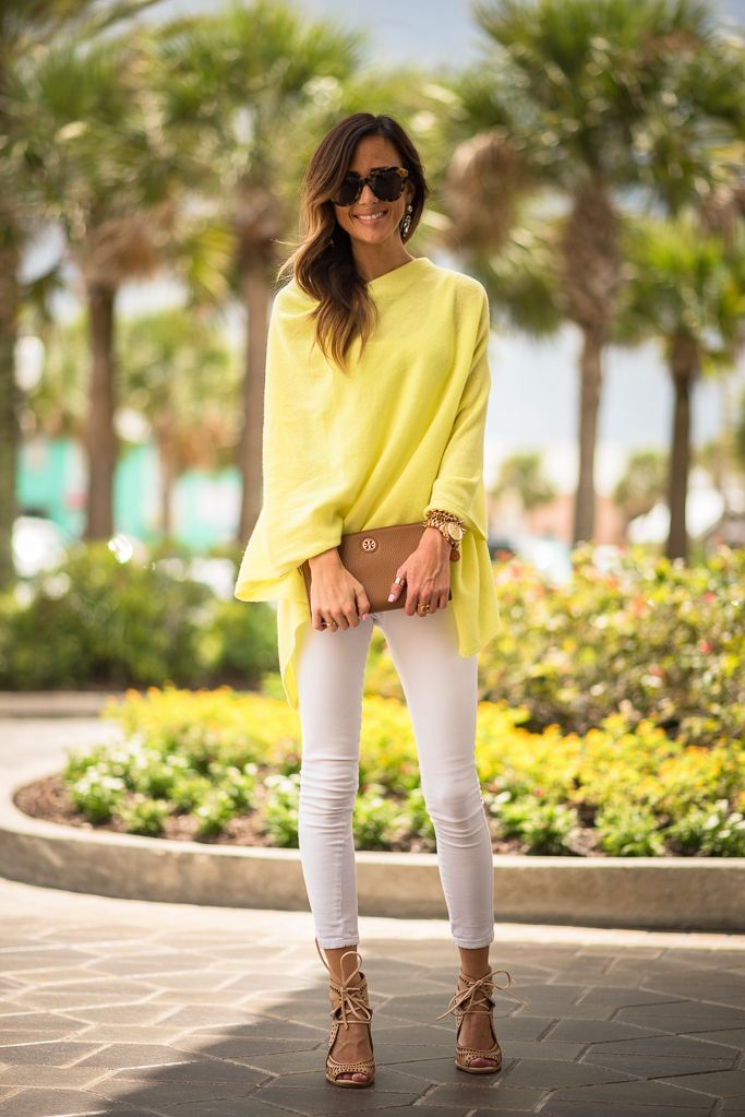 bright yellow pullover