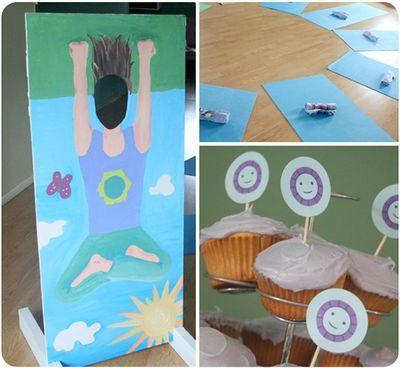 Yoga picture board