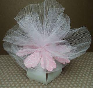Bomboniera a fiore - Flower Vase Favor Box