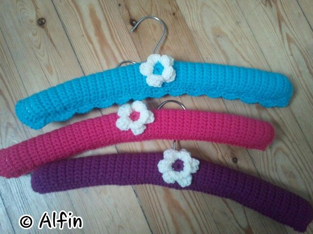 Crochet Clothes Hanger Covers | Free Crochet Patterns – Clothes for Babies  Kids