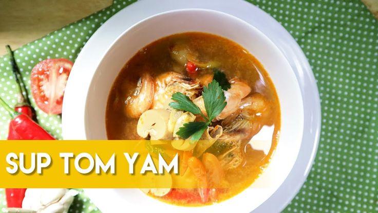 Resep dan Cara Membuat Sup Tom Yam ala Dapur Adis