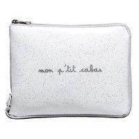 Un sac cabas pliable blanc neige pour le shopping ou les courses !