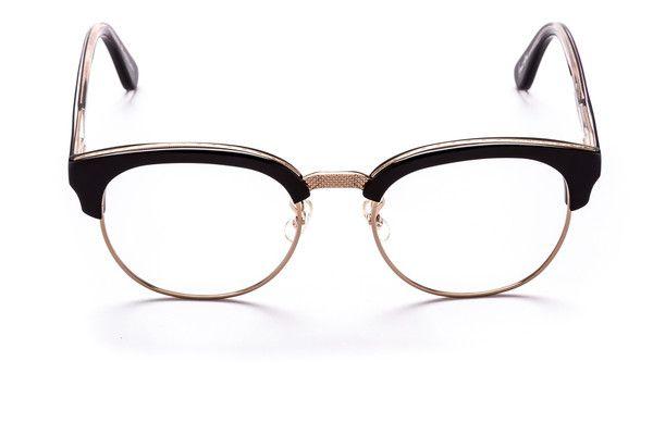 Black and Rose Gold WOODY Optical Glasses - SUNDAY SOMEWHERE