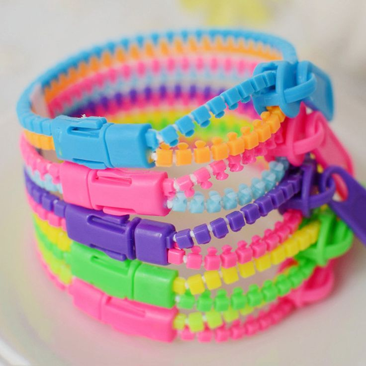 Wholesale Product Snapshot Product name is (2015) HOT Free Shipping New !! fluorescent color rainbow Levels personality zipper bracelet Wholesale