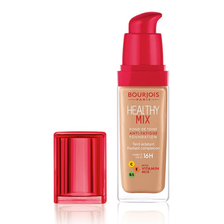Bourjois Healthy Mix Foundation #bourjois #paris #foundation #healthy #mix #make-up