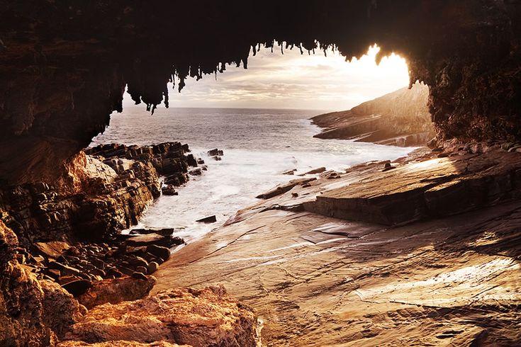 Admiral's Arch on Kangaroo Island, South Australia