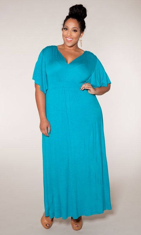 cheap plus size maxi dresses 28 -  #plus #plussize #curvy