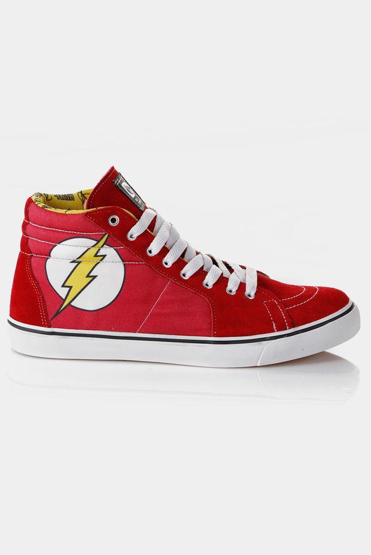 Tênis Cano Alto DC Comics The Flash - Loja DC Comics Oficial
