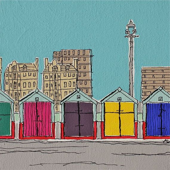 Brighton HovePrints Hove, Crafts Month, 995, Brighton Hove, Adam Regest, Hove Huts, Beach Huts, Graphics Design, Signs Prints