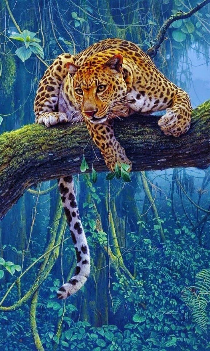 рисунки живых животных