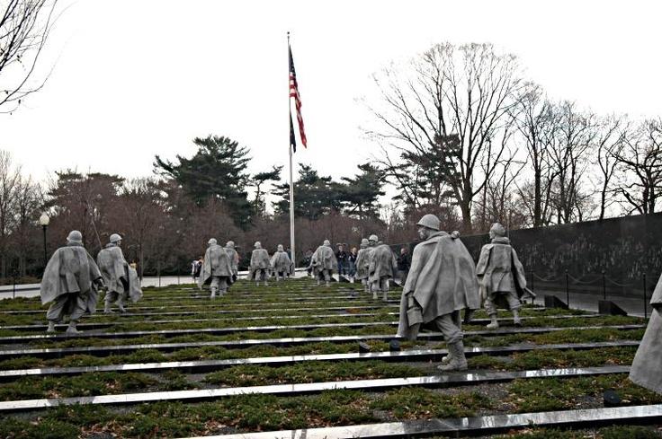 Korean War Memorial, DC