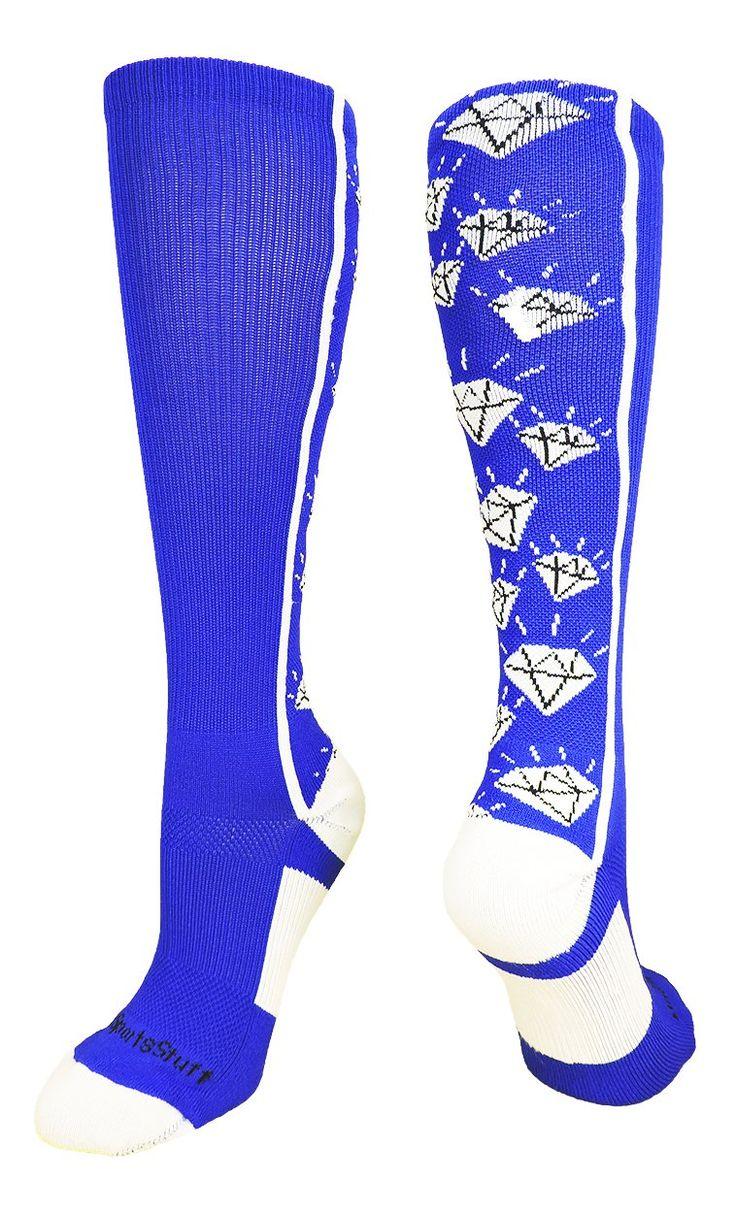 Diamond Over the Calf Socks (multiple colors)
