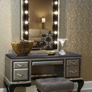Modern Black Bedroom Vanity Set